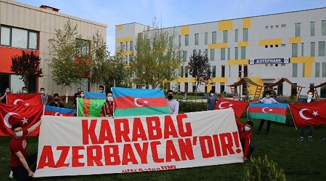 """ÇAKÜ'den Kardeş Ülke Azerbaycan'a Destek; """"Karabağ Azerbaycan'dır!"""""""