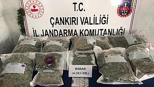 Çankırı Merkezde Uyuşturucu Madde İmal Ve Ticareti Yapanlara Darbe