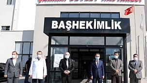 Vali Abdullah Ayaz, Çankırı Devlet Hastanesi Yönetimiyle Covid-19 Sürecini Görüştü