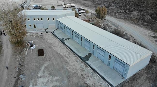 Çankırı Belediyesi Lojistik ve Destek Merkezi Kurdu