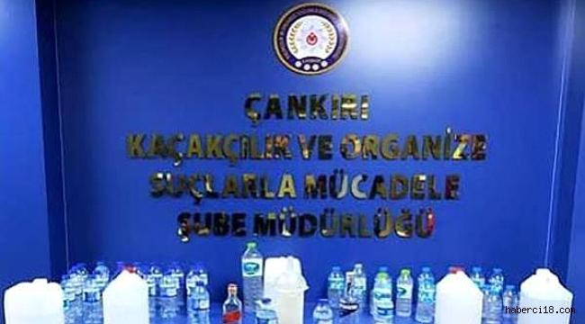 Çankırı Polisinden Kaçak İçki Operasyonu