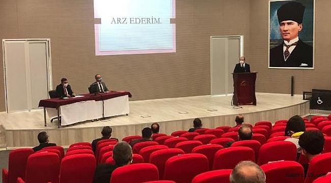İl Millî Eğitim Müdürlüğü İl Danışma Kurulu Toplantısı Yapıldı