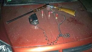 Ilgaz'da Kaçak Avcılık Yapan Üç Kişi Yakalandı
