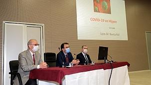 İlimizde Görev Yapan Din Görevlileriyle Covid-19 Toplantısı Yapıldı