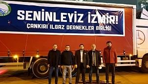 İstanbul'daki Ilgazlılar'dan Depremzedelere 1 Tır Dolusu Yardım