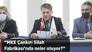 """İyi Parti Çankırı İl Başkanı Akbaş Soruyor, """"MKEK Çankırı Silah Fabrikasında Neler Oluyor?"""""""