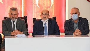 MHP İl Başkanlığında Devir-Teslim Töreni