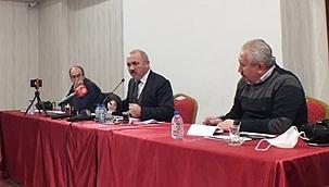 Belediye Başkanı İsmail Hakkı Esen'i Soru Bombardımanına Tuttuk