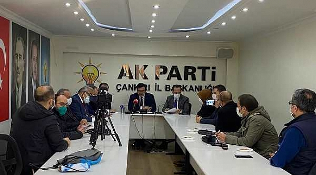 Çankırı AK Parti 2020 Yılını Değerlendirdi