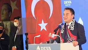 Deva Partisi Genel Başkanı Ali Babacan Çankırı'da