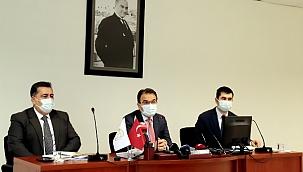 Valimiz Abdullah Ayaz Pandemi Süreciyle İlgili Açıklamalarda Bulundu