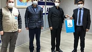 Beşir Derneği İl Temsilciliği AFAD İl Müdürlüğünü Ziyaret Etti