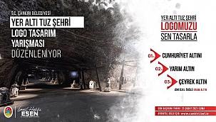 """Çankırı Belediyesi """"Yer Altı Tuz Şehri Logo Tasarım Yarışması"""" Düzenliyor"""