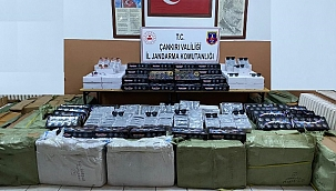 Çankırı'da Kaçak Güneş Gözlükleri Ve Saatler Ele Geçirildi