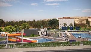 Çankırı'nın Aqua Park ve Kır Düğün Salonu Projesi Hazır
