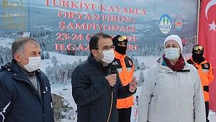 Kayakla Oryantiring Şampiyonası Çankırı'da Başladı