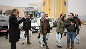 Rektör Ayrancı 10 Ocak Çalışan Gazeteciler Gününde Çankırı Basını ile Bir Araya Geldi