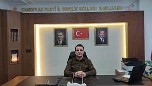 AK Parti Çankırı İl Gençlik Kolları Başkanı İsmail Çiftçi'nin Regaip Kandili Mesajı