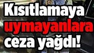 Çankırı Emniyet Müdürlüğü ve İl Jandarma Komutanlığı Ekipleri Ceza Yağdırdı