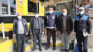 Çankırı Zabıtası Taksicileri Dinledi