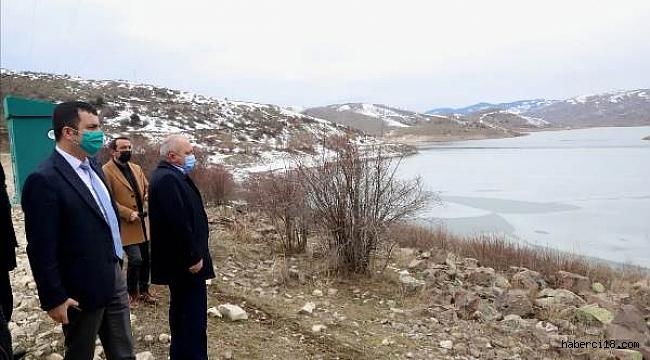 Güldürcek Barajı ve İçme Suyu Arıtma Tesisinde İnceleme