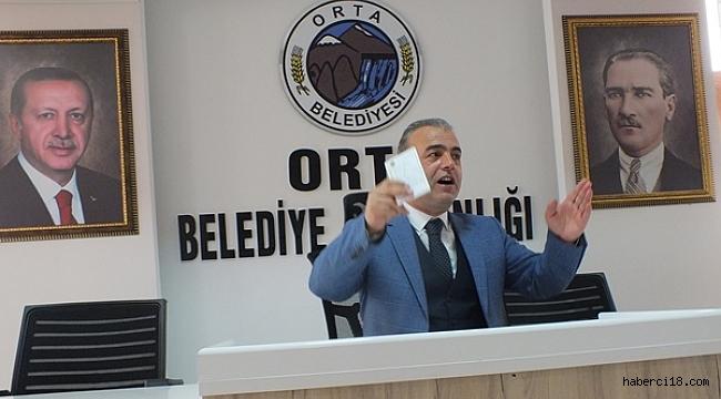 Orta Belediye Başkanı Bayram Yavuz Onay 7 Yıllık Faaliyetlerini Basınla Paylaştı