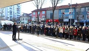 Çankırı'da 100. Yılda 100 Hoparlörden İstiklal Marşı Yayınlandı