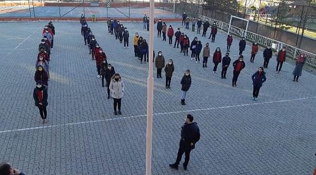 Çankırı'da Yüz Yüze Eğitime Başladı