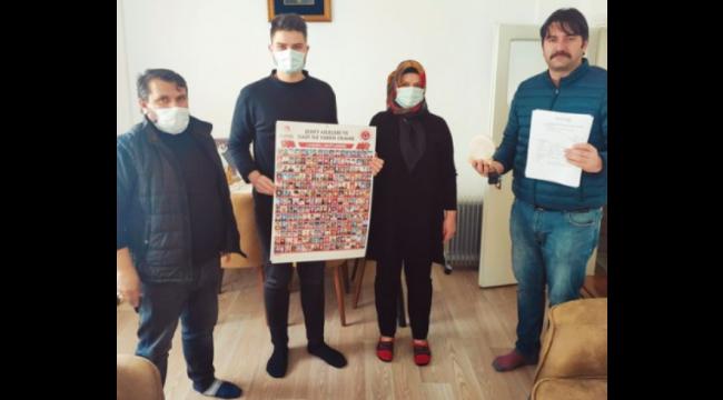 Çankırı Şehit ve Gaziler Derneği Nevşehir'de Yaşayan Çankırılı Şehit Ailesini Unutmadı