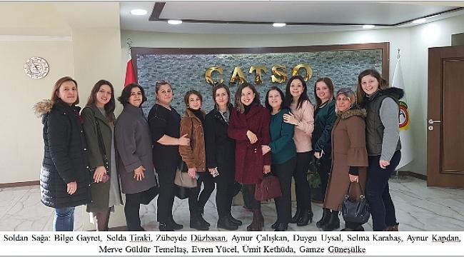 ÇATSO'dan 8 Mart Dünya Kadınlar Günü Mesajı