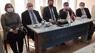 İYİ Parti Genel Merkez Başkanlık Divanı'ndan Çankırı'ya Ziyaret