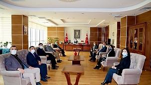 MHP Ve AK Parti'den Vali Abdullah Ayaz'a Ziyaret