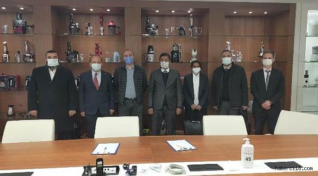 Sri Lanka Ankara Büyükelçisi Bay Mohamed Rizvi Hassen Çankırı'da