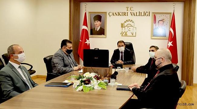 Yüz Yüze Eğitim Konulu Okul Müdürleri ile Toplantı