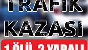 Çerkeş'te Trafik Kazası 2 Ölü 1 Yaralı