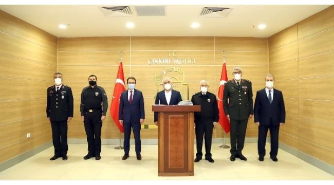 İçişleri Bakan Yardımcısı Ersoy Ve Jandarma Genel Komutanı Çetin Çankırı'da
