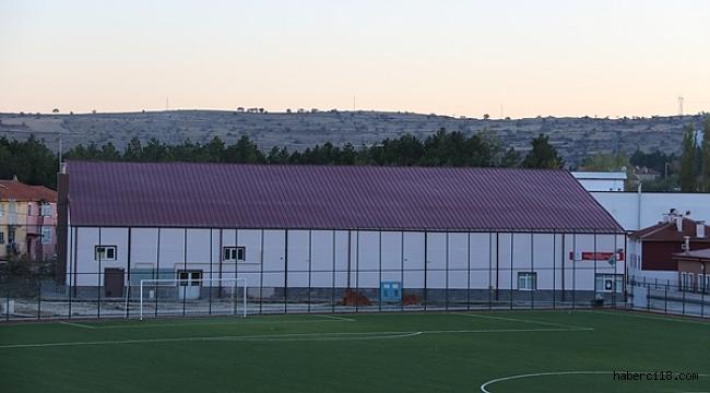 Kurşunlu Spor Salonu Yenilendi