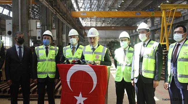 Bakan Adil Karaismailoğlu Çankırı Makas Fabrikasını Ziyareti