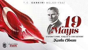 Başkan Esen 19 Mayıs'ın 102. Yılını Kutladı