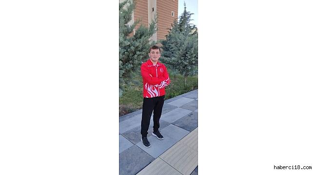 Çankırı Belediyesinin Genç Güreşçisi Avrupa Şampiyonası'nda