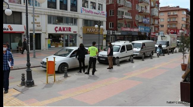 """Çankırı'da """"Tam Kapanma""""nın Üçüncü Gününde Sessizlik Hakim"""