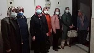 MHP Kadın Kolları Mübarek Günde de Sosyal Aktivitelerine Aralıksız Devam Ediyor