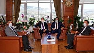 Milletvekili Çivitcioğlu Rektör Çiftçiı'yi Ziyaret Etti