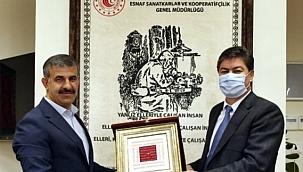 Rektör Çiftçi, Genel Müdür Necmettin Erkan'ı Ziyaret Etti