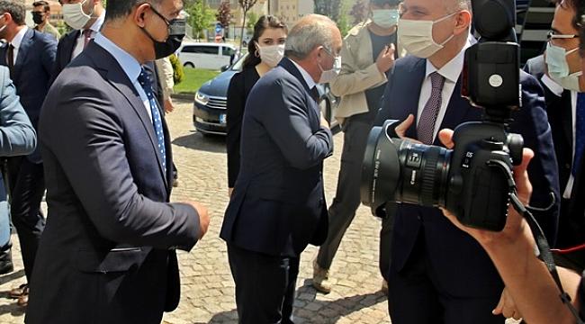 Uluyazı'dan Çankırı'ya Alternatif Yol Çalışmaları Başladı