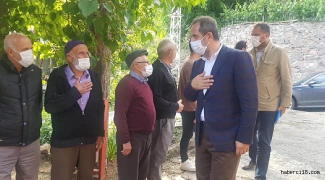 Çankırı AK Parti Teşkilatı Köy Ziyaretleri