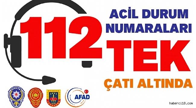 Çankırı'da Artık Tüm Acil Numaralar Tek Numarada 112 Acil Çağrı