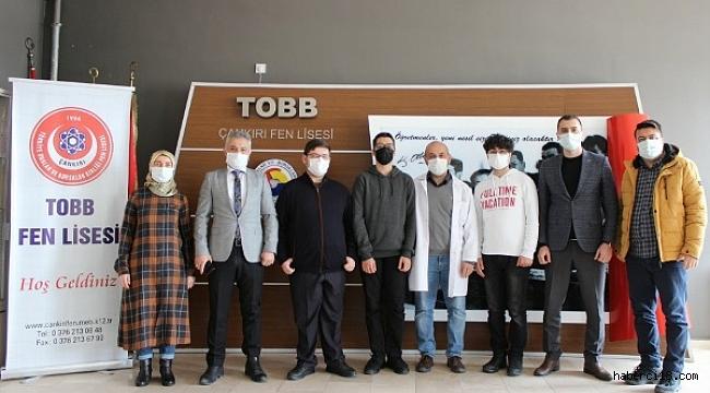 Çankırı TOBB Fen Lisesi TÜBİTAK'ta Türkiye 3.'sü Oldu