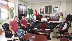 Çankırı TÜGŞAV Belediye Başkanı Esen'i Ziyaret Etti