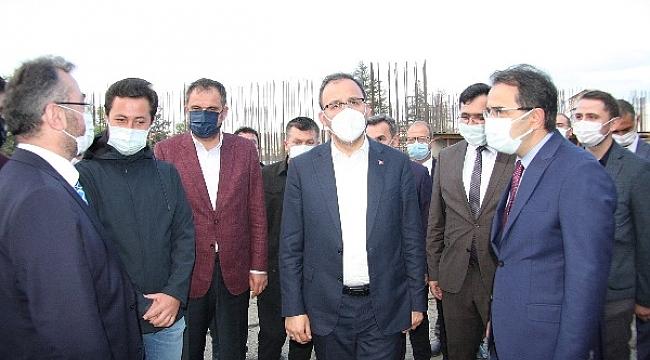 Gençlik ve Spor Bakanı Kasapoğlu Çankırı'ya Geldi
